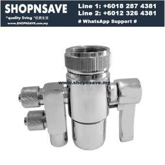 SHOPNSAVE 2 ways faucet adapter,water filter, water dispenser kitchen tap connector, Water Filter Dispenser water dispenser adapter