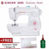 SINGER 3333 Fashion Mate 23-Stitch Sewing Machine with Extension Table better than Singer 1408