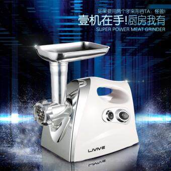 Stainless Steel Electric meat grinder Multi-function electricMincer Stuffer Commercial Kitchen Mincer Butchers Meat Grinder