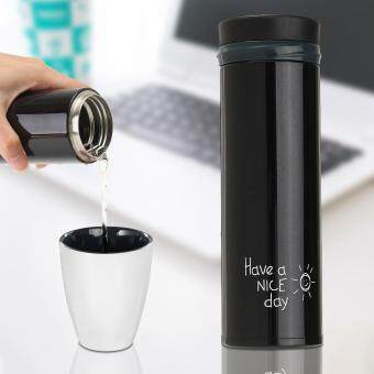 Stainless Steel Mug Thermos Vacuum Insulated Travel Tumbler CoffeeMug Cup 350ML