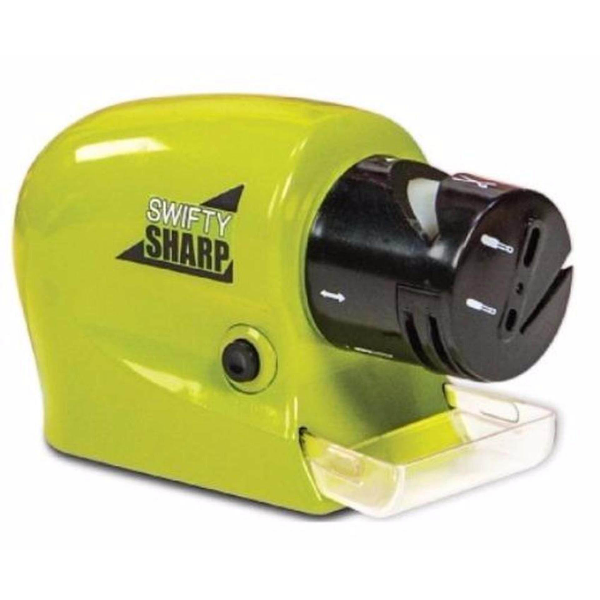 Inside our mobile sharpening shop - Swifty Sharp Electric Knife Sharpener