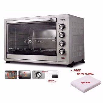 Harga Trio Kaden TEO-1201 Extra Large Capacity Electric Oven (120L) + Free Bath Towel