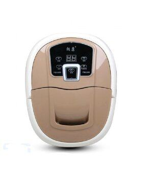 Harga Upgraded Original Digital Lang Kang Detox Foot Spa Massage (LightBrown)