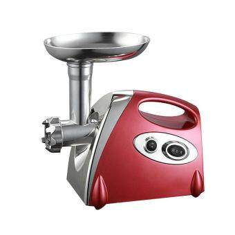 Vinmax 220V 1000W Electric Meat Grinder Stainless Steel Heavy DutyHousehold Commercial Sausage Maker Meats Mincer Food GrindingMincing Machine (Red)