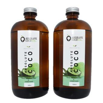 Harga Absolute Coco Extra Virgin Coconut Oil 2 x 1Liter