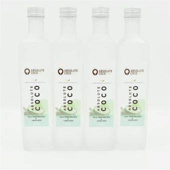 Absolute Coco Extra Virgin Coconut Oil 4 x 500ml