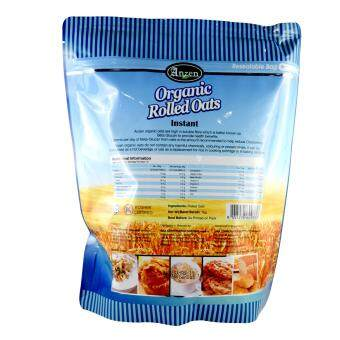 Anzen Organic Rolled Oats Instant 1kg - Canada - 2