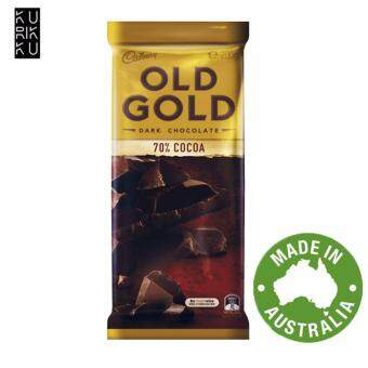 Harga Australia Cadbury Old Gold Dark Chocolate 70% Cocoa 200G