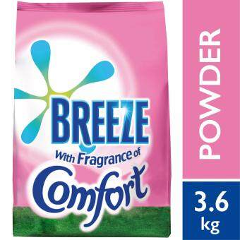 Breeze Detergent Powder Fragrance of Comfort 3.6 kg