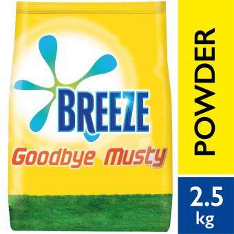Breeze Detergent Powder Indoor Drying Goodbye Musty 2.5 kg