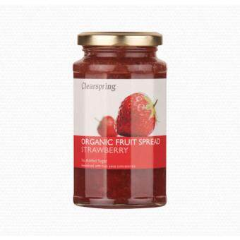 Clearspring Organic Fruit Spread Strawberry 290g-NO SUGAR