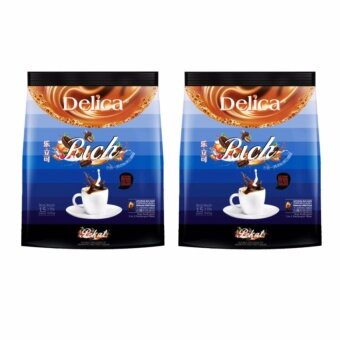Delica 3 in 1 Ipoh White Coffee - Rich (15 x 36g) @ 2 packs