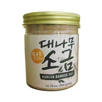 Earth Living 9 times Roasted Korean Organic Bamboo Salt 360g