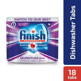 Finish Quantum Max 18 Dishwasher Tabs Regular