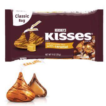 Hershey's Kisses Milk Chocolate Filled With Caramel 311g
