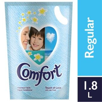 Harga Comfort Fabric Softner Touch of Love Refill 1.8 L