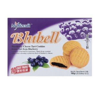 Harga MyBizcuit Blubell Blueberry Cheese Tart Cookies 10s x 16g