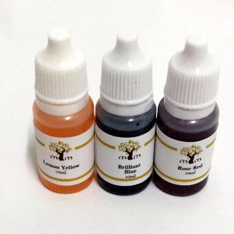 Harga MYM DIY Soap colorants 10mL for 3 color yellow, blue and red