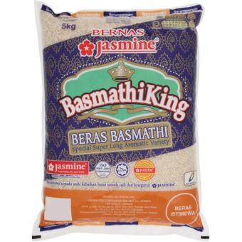 Harga Jasmine King Beras Basmathi Special Super Long Rice 5kg