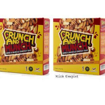 Harga DASTO ENERGY BAR CRUNCH & MUNCH-TWIN PACKS
