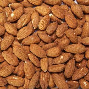 Harga Fresh Bulk Roasted Almond (1kg)