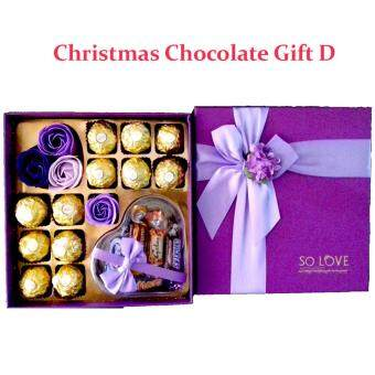 Harga 12 piece Ferrero Rocher Chocolate Gift Set - Purple