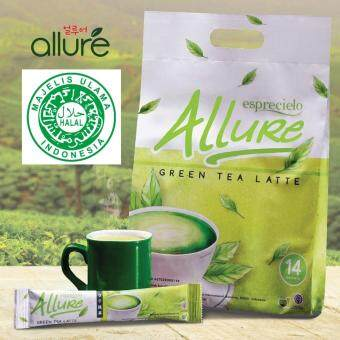 Harga Esprecielo Allure Green Tea Latte Economic Bag 14x24g