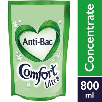 Harga Comfort Concentrate Fabric Softener Anti-Bacteria Refill 800 ml