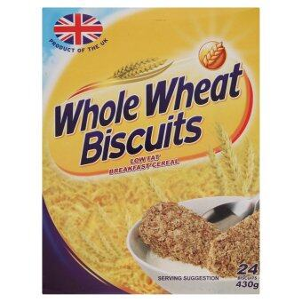 Harga Whole Wheat Biscuits Low Fat Breakfast Cereal 24pcs 430g