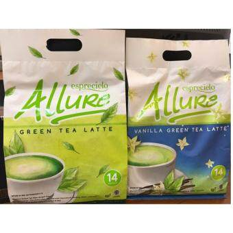 Harga Eprecielo Allure Green Tea Latte - 2 Economic Bags (Vanilla, Original)