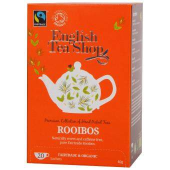 Harga English Tea Shop - Rooibos Fair Trade (Caffeine Free) (40g) - UK