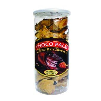 Harga 6 Unit Choco Palm Chocolate DATES Almond 400g - Free Shipping