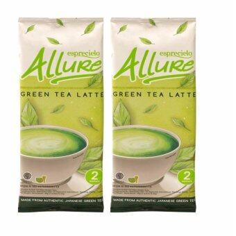 Harga Esprecielo Allure Japanese Green Tea Latte 2 double sachets (4 servings x 24g)