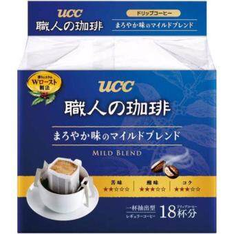 Harga 18p x 7g UCC MILD BLEND Drip Coffee Instant Ear Hanging Arabica Ground Coffee
