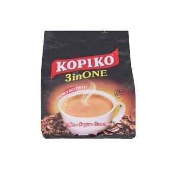 Harga Kopiko 3 in One Strong & Rich Coffee 30 x 20g