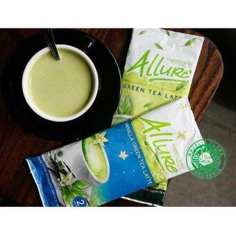 Harga Esprecielo Allure Green Tea Latte - 2 double sachet packs - Vanilla & Original