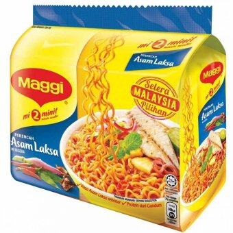 Harga Maggi 2-Minute Noodles Asam Laksa 5 x 78g (Bundle of 6)