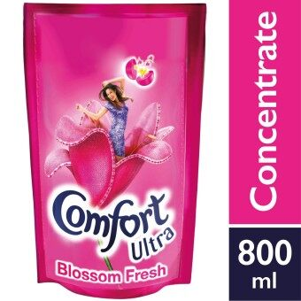 Harga Comfort Concentrate Fabric Softener Blossom Fresh Refill 800 ml
