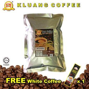 Harga KLUANG COFFEE 100% Arabica Pure Coffee Powder (500gm)