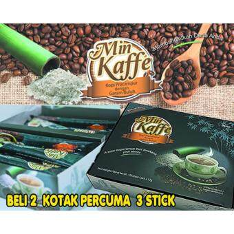 Harga Min Kaffe (Mineral Coffee) Pre-mix Coffee with Bamboo Salt by Hai-O