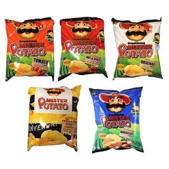 Mister Potato Potato Chips 75g x 5