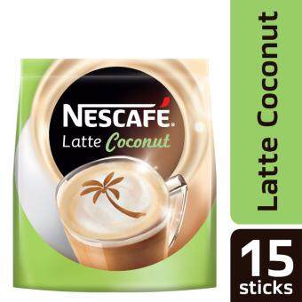 Harga NESCAFE Latte Coconut 15 Sticks, 30g Each (SPECIAL OFFER)