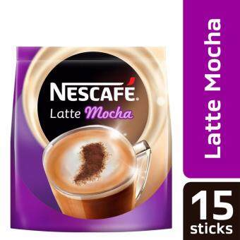 Harga NESCAFE Latte Mocha 15 Sticks, 31g Each (SPECIAL OFFER)