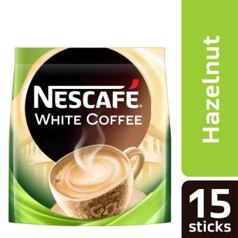 Harga NESCAFE White Coffee Hazelnut 15 Sticks, 36g Each (SPECIAL OFFER)