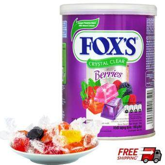 Harga Nestle Fox's Crystal Clear Mix Berries Flavored Candy 180g