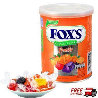 Harga Nestle Fox's Crystal Clear Mix Fruits Flavored Candy 180G
