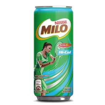 Harga NESTLE MILO Hi-Cal Activ-Go Chocolate Malt 240ml