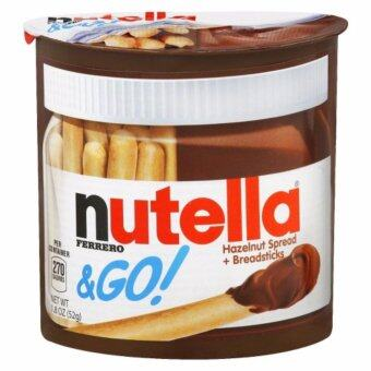 Harga Nutella &GO 39g / Breadsticks 13g