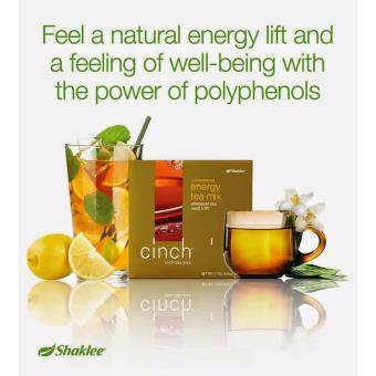 Shaklee Cinch Energy Tea Mix {FREE SHIPPING} 1X28 sticks -Meningkatkan Tenaga dan metabolisma (Natural Energy Booster) - 2