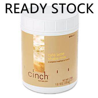 Shaklee Cinch Shake Mix - Cafe Latte [FREE SHIPPING 1ST KG] (765g,15 Servings)-BEST for kurangkan berat badan SLIMMING